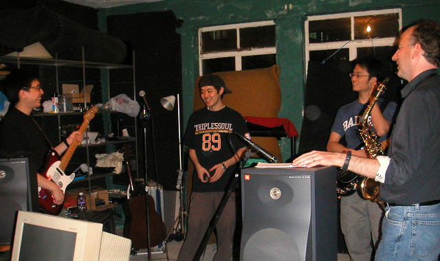 Rehearsing with Yim, Brandon & CM (Site Access)
