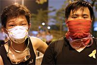The Student Pro-democracy Protests in Hong Kong