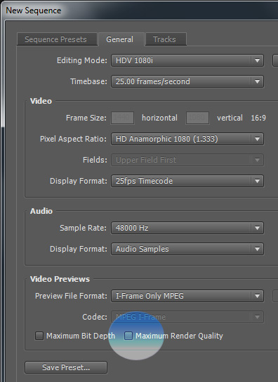 Choosing Premiere Pro Sequence Settings for HD Video – Longzijun