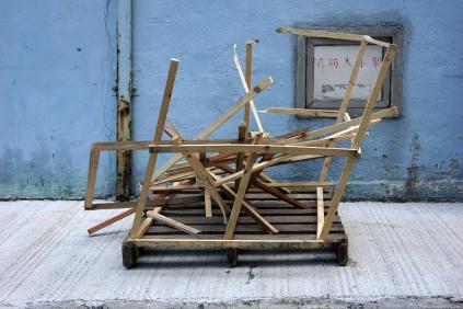 Busted Pallet (an interesting sculpture)