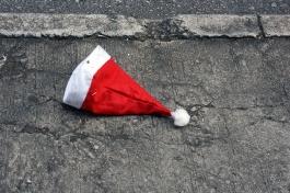 Post-Christmas hat