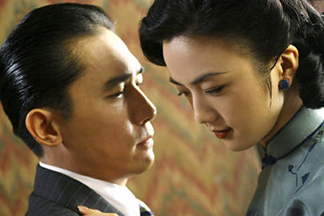 Scene from the film adaptation of Lust Cautionl
