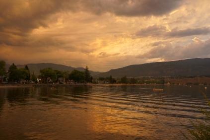 Penticton: Storm Clouds