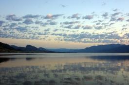Penticton: Okanagan Lake at Sunrise