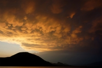Penticton: Sunset Clouds