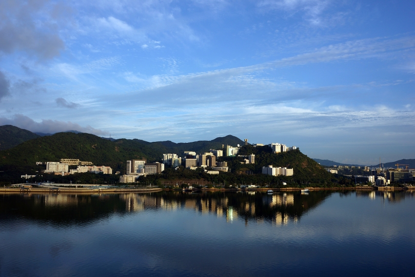 Chinese University at Dawn