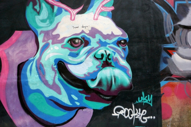 Trophy Dog (mid-autumn-graffiti-09178)