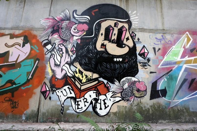 Goldfish Man (mid-autumn-graffiti-09274)