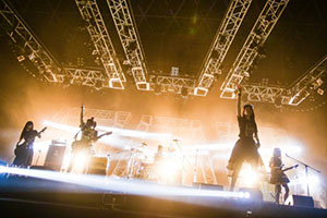 All-girl rock bands from Japan